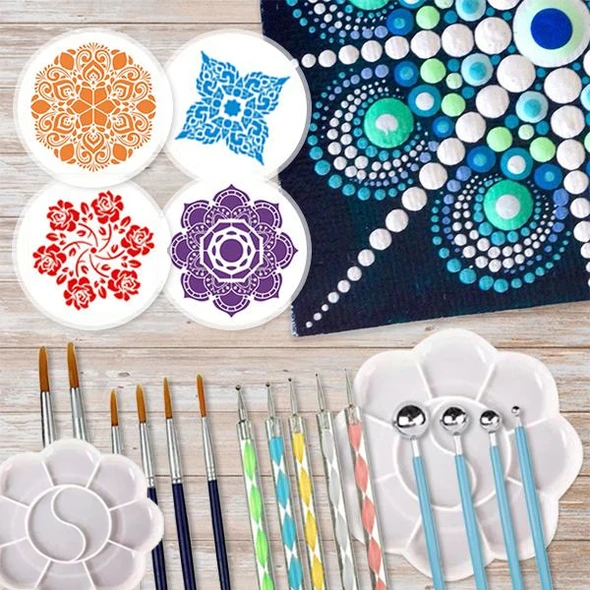 Mandala Dotting Art Set