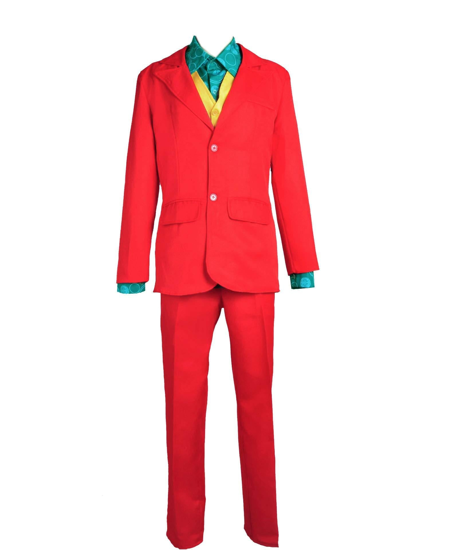 All in one - Men's Joker Halloween Costume