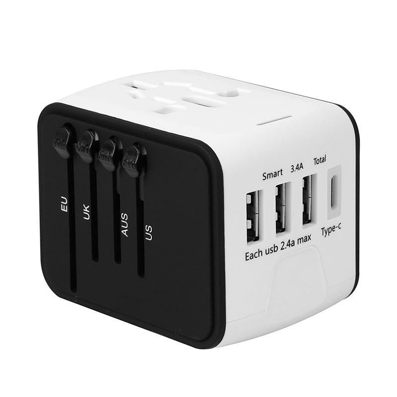 All-in-one 4 USB Universal Power Travel Adapter (BUY 1 GET 2ND 10% OFF)