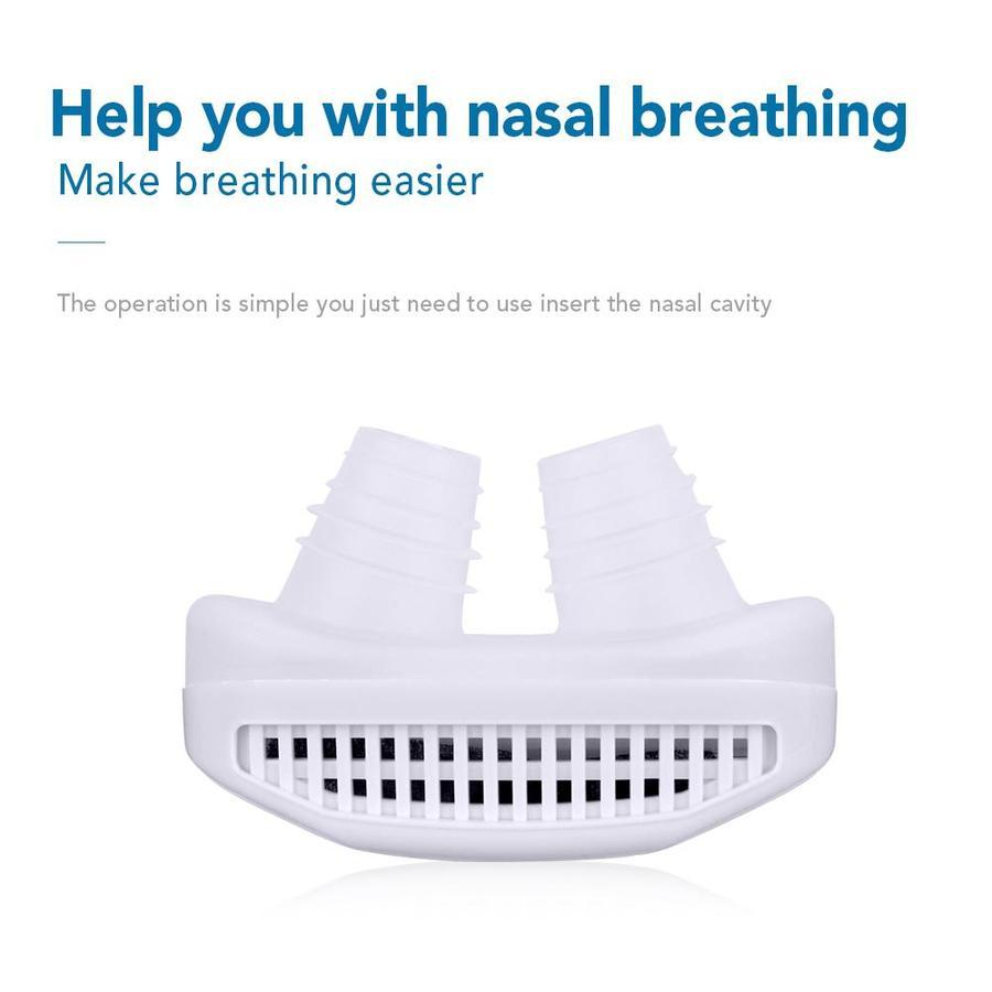 Health Silicone Anti-snore Nose Clip Mini Air Purifier