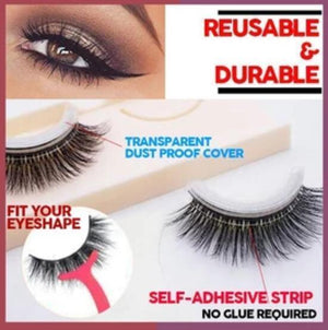 Reusable Self-Adhesive Eyelashes