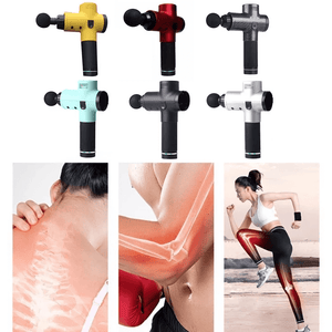4 In One, Relieving Pain, 3 Speed Setting Body Deep Muscle Massager