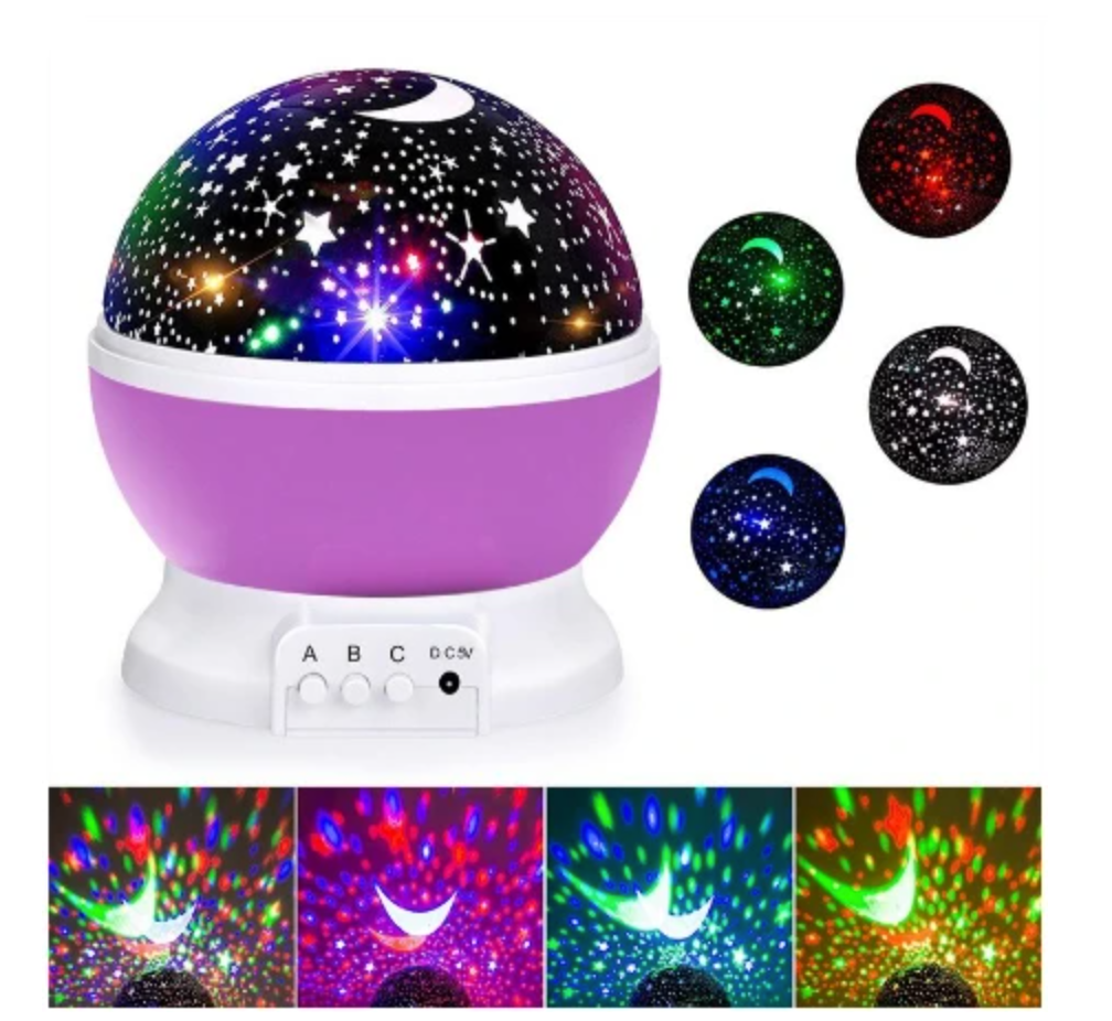 LED Galaxy Projector Night Light