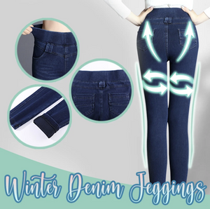 Winter Denim Jeggings