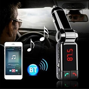 Bluetooth Car Adapter - Hands-free calls - Listen to Music And Audible Directions