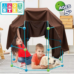 Kids Construction Fortress Building Kit