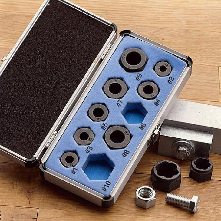 Damaged Nut Bolt Remover Set