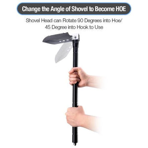 The Ultimate Survival Tool 25-in-1 Folding Shovel