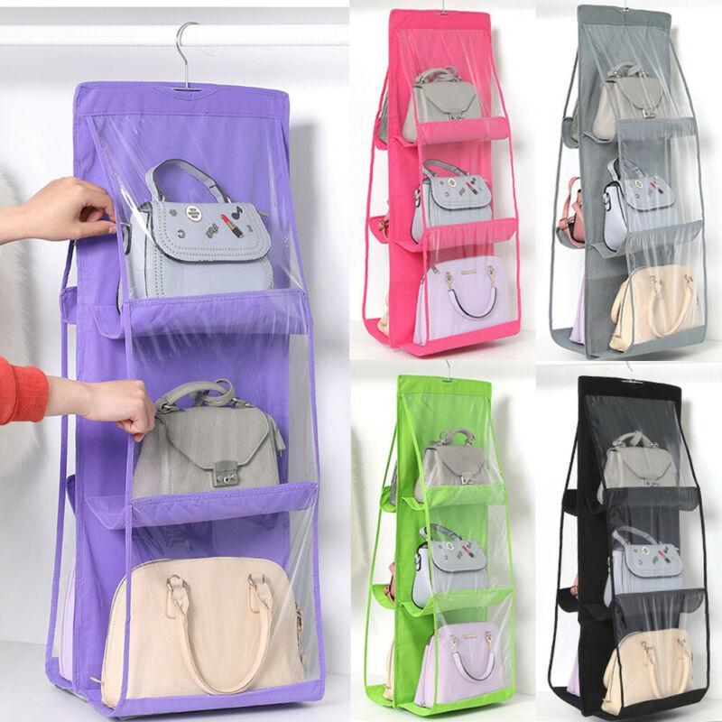 3 Layers Folding Shelf Bag Purse