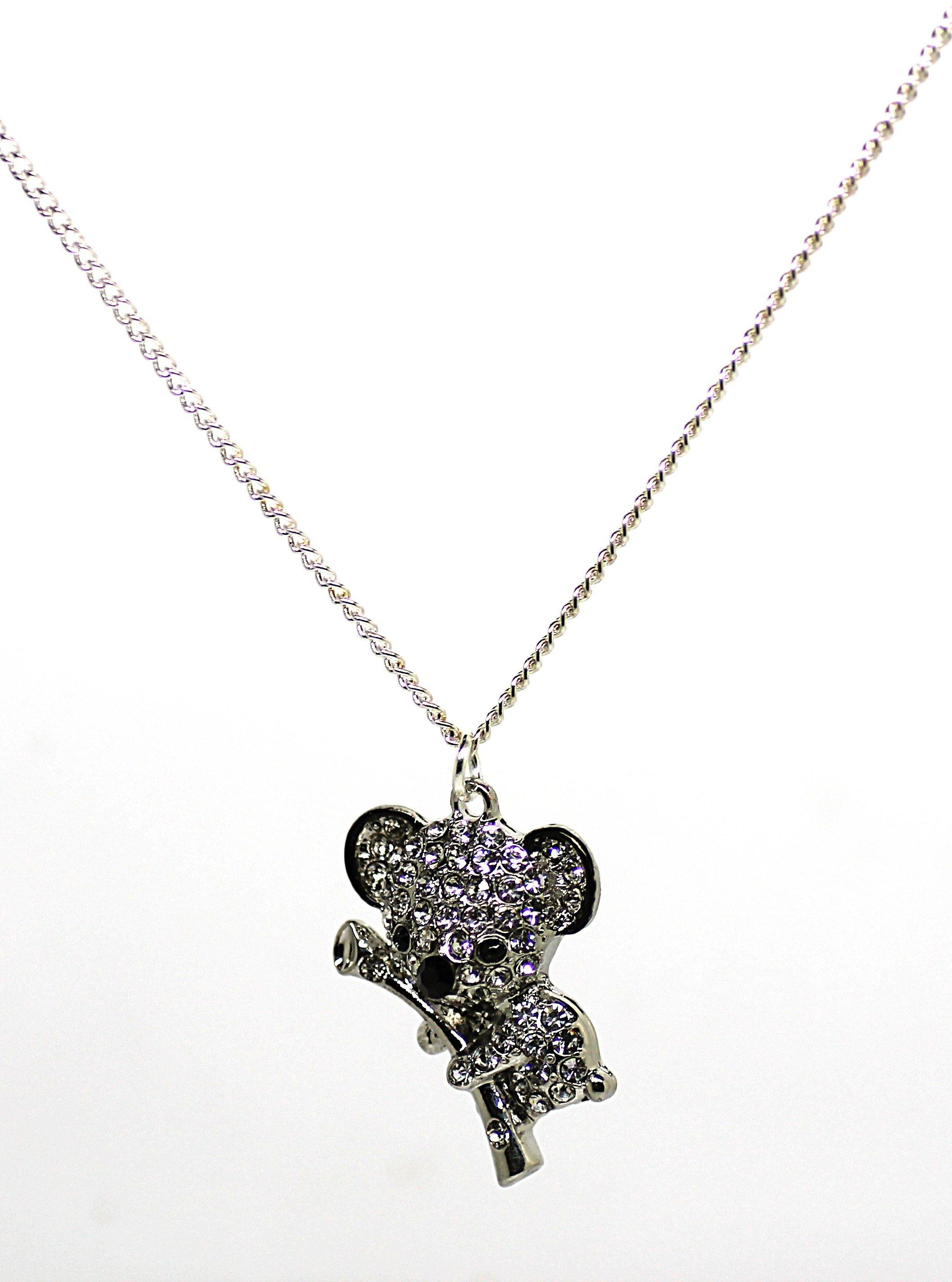Koala Clear Necklace - Wildtouch - Wildtouch