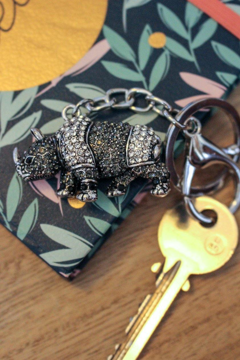 Rhino Keyring - Wildtouch - Wildtouch