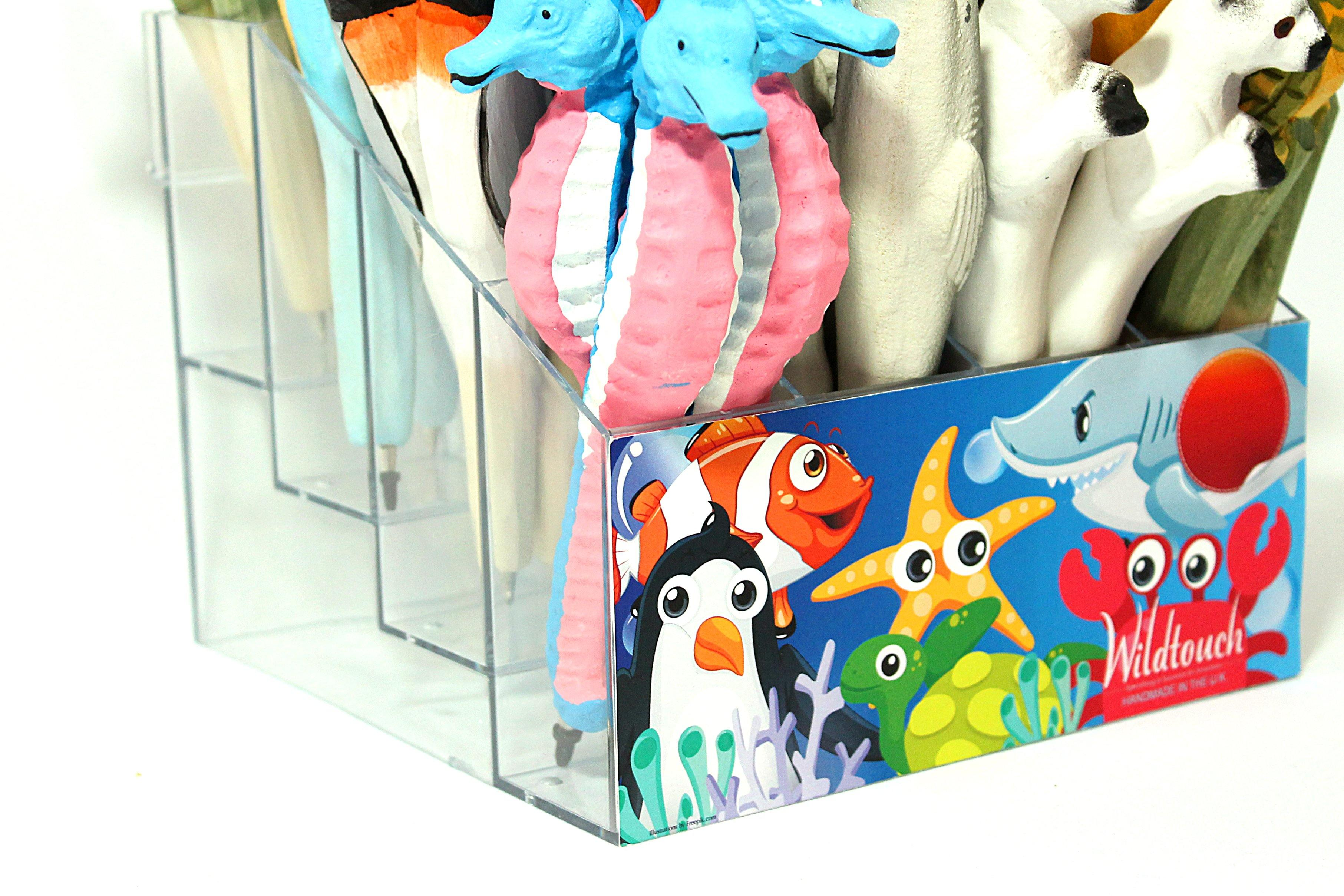 Sea Life / Aquarium Pack of 72 - MIX - Wildtouch - Wildtouch