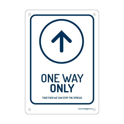 One Way Traffic ONLY