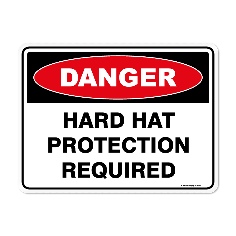 Danger - HARD HAT