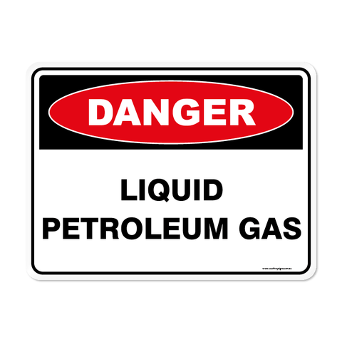Danger - LIQUID PETROLEUM