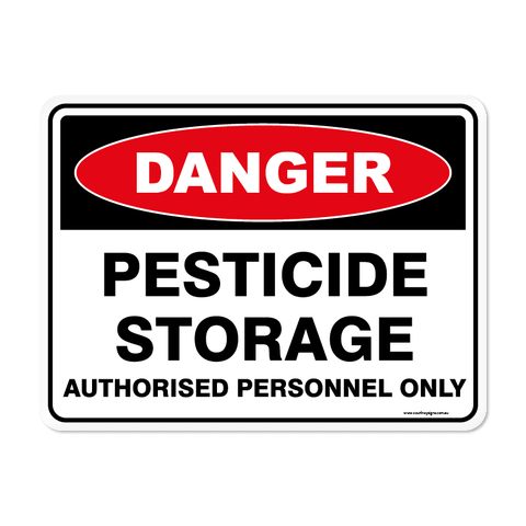 Danger - PESTICIDE