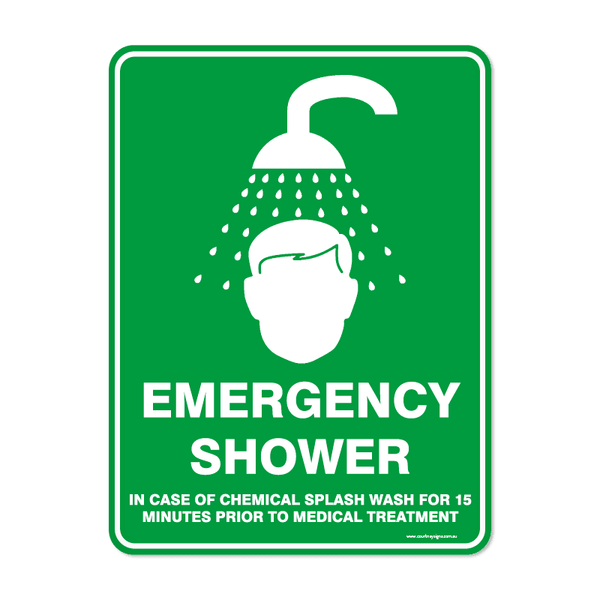Emergency - EMERGENCY SHOWER