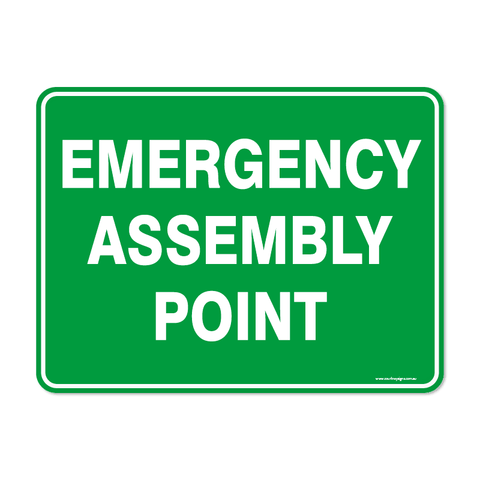 Emergency - EMERGENCY ASSEMBLY POINT