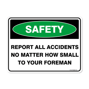 Emergency - REPORT ACCIDENTS