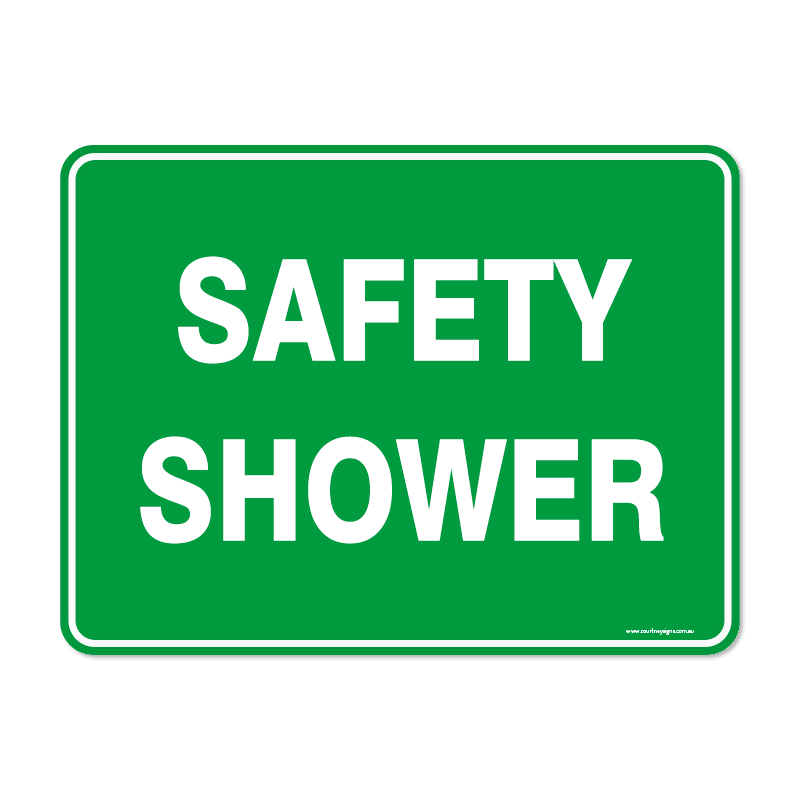 Emergency - SAFETY SHOWER