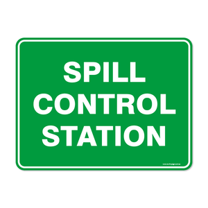 Emergency - SPILL CONTROL STATION