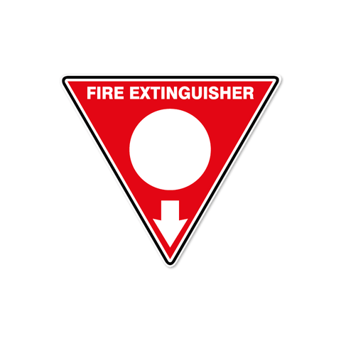 Fire - FIRE EXTINGUISHER WHT