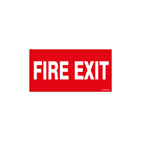 Fire - FIRE EXIT