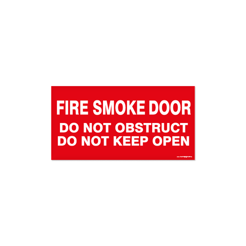 Fire - FIRE SMOKE DOOR