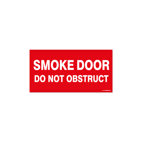 Fire - SMOKE DOOR