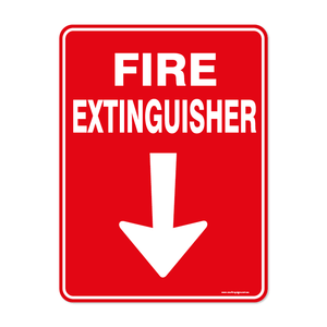 Fire - FIRE EXTINGUISHER BELOW