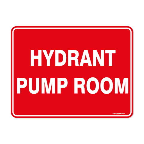 Fire - HYDRANT PUMP ROOM