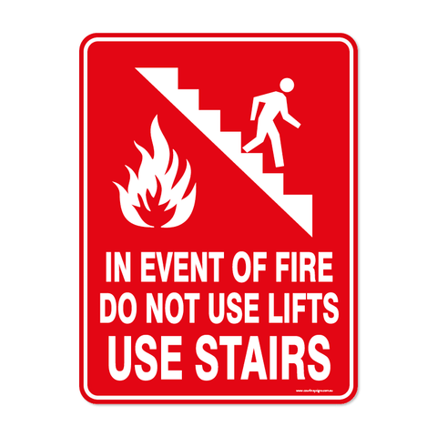Fire - USE STAIRS