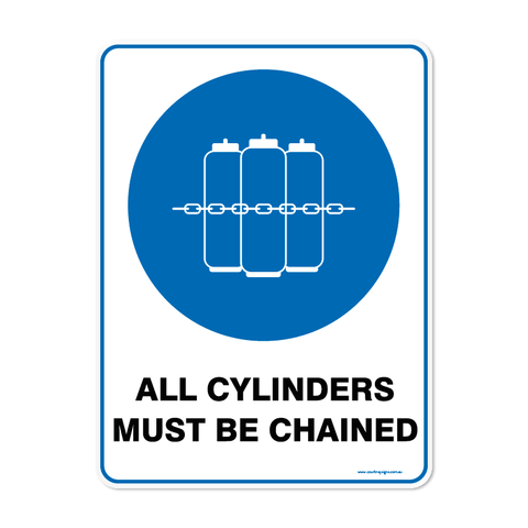 Mandatory - CYLINDERS CHAINED