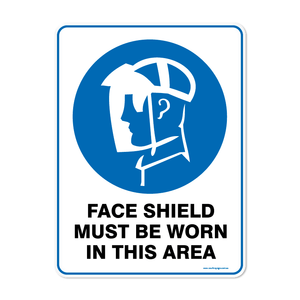Mandatory - FACE SHIELD