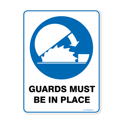 Mandatory - GUARDS IN PLACE