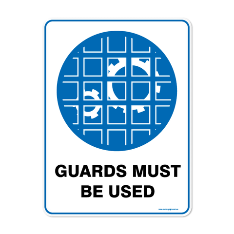 Mandatory - GUARDS MUST BE USED