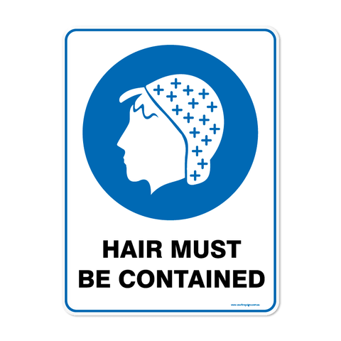 Mandatory - HAIR CONTAINED