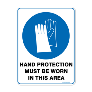 Mandatory - HAND PROTECTION