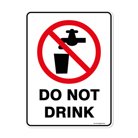 Prohibition - DO NOT DRINK
