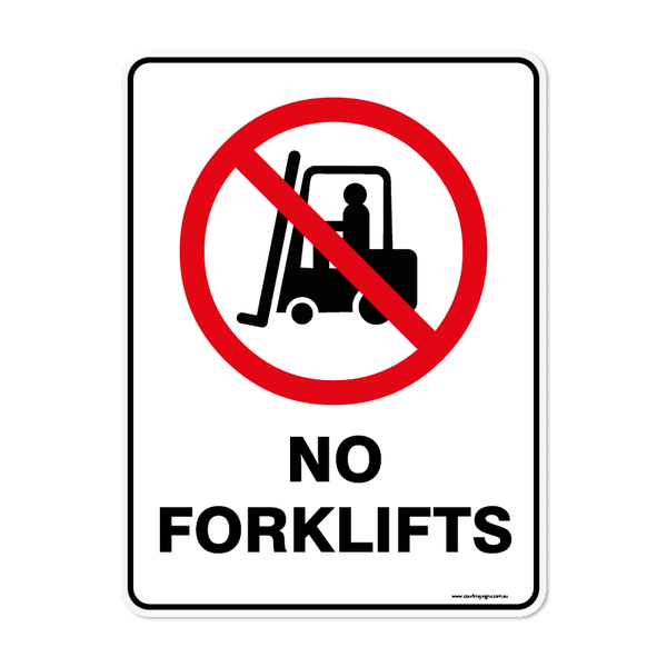 Prohibition - NO FORKFLITS