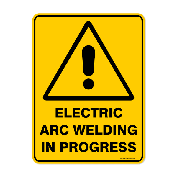 Warning - ELECTRIC ARC WELDING