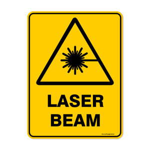 Warning - LASER BEAM