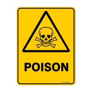 Warning - POISON