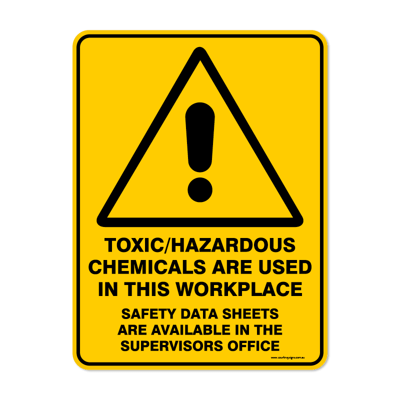 Warning - TOXIC CHEMICALS