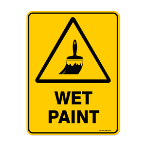 Warning - WET PAINT