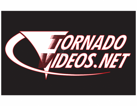 Horizontal Vortex TornadoVideos.net T-shirt - Women's