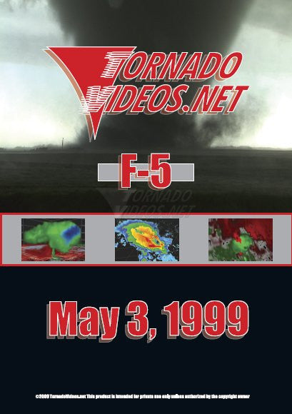 TornadoVideos.net May 3, 1999 DVD
