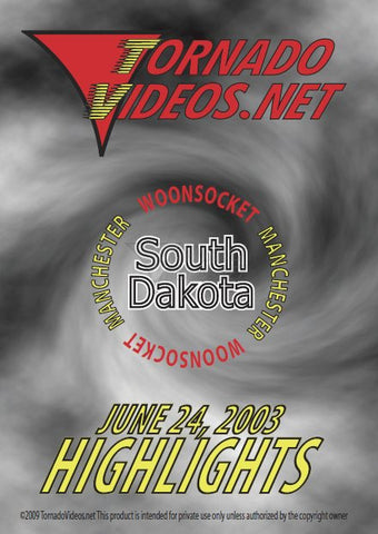 TornadoVideos.net June 24, 2003 DVD