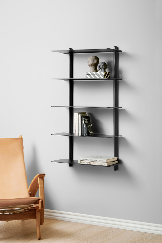 Load image into Gallery viewer, Nivo shelf large E black ash/ black