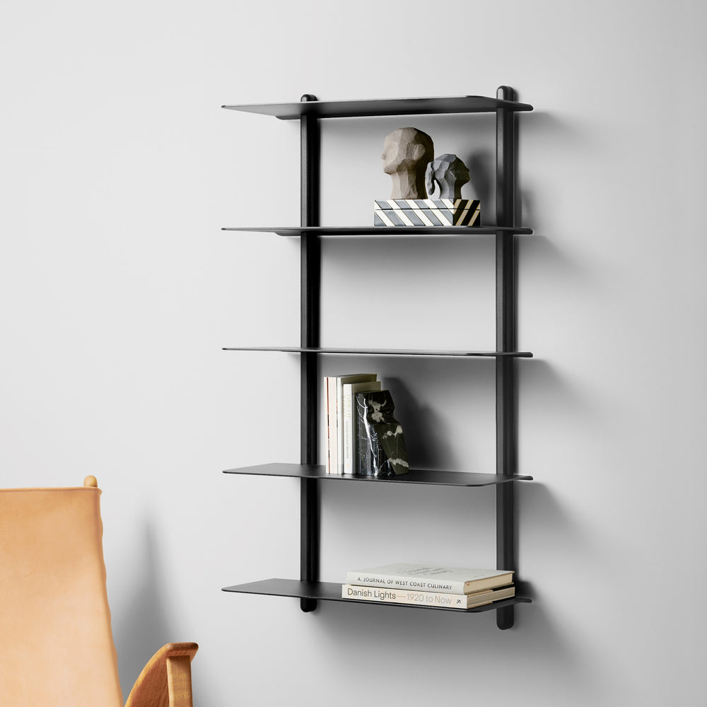 Nivo shelf large E black ash/ black
